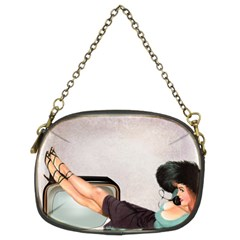 Vintage 1133810 1920 Chain Purse (two Sides)