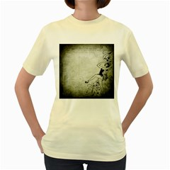Grunge 1133693 1920 Women s Yellow T Shirt