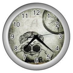 Vintage 1135015 1920 Wall Clock (silver) by vintage2030