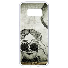 Vintage 1135015 1920 Samsung Galaxy S8 White Seamless Case by vintage2030