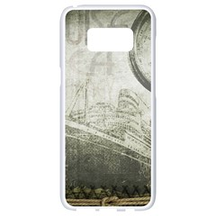 Vintage 1135014 1920 Samsung Galaxy S8 White Seamless Case by vintage2030