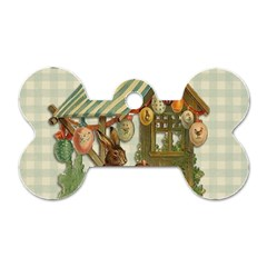 Easter 1225826 1280 Dog Tag Bone (two Sides) by vintage2030