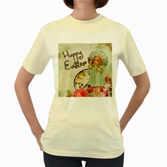 Easter 1225805 1280 Women s Yellow T Shirt
