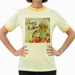 Easter 1225805 1280 Women s Fitted Ringer T Shirt