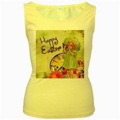 Easter 1225805 1280 Women s Yellow Tank Top