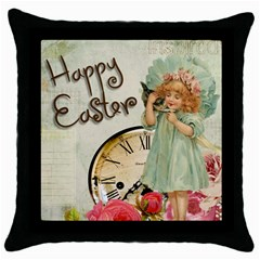 Easter 1225805 1280 Throw Pillow Case (black) by vintage2030