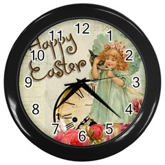 Easter 1225805 1280 Wall Clock (black)