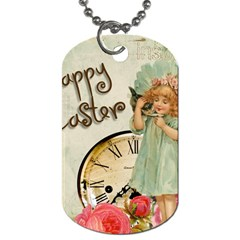 Easter 1225805 1280 Dog Tag (two Sides) by vintage2030