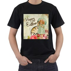 Easter 1225805 1280 Men s T Shirt (black) (two Sided)