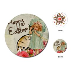 Easter 1225805 1280 Playing Cards (round)