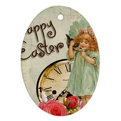 Easter 1225805 1280 Oval Ornament (two Sides)