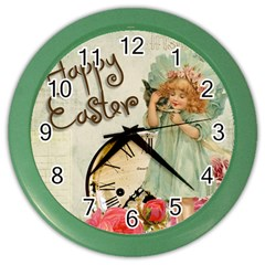 Easter 1225805 1280 Color Wall Clock