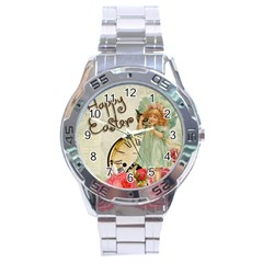 Easter 1225805 1280 Stainless Steel Analogue Watch