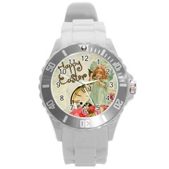 Easter 1225805 1280 Round Plastic Sport Watch (l)