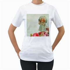 Vintage 1225887 1920 Women s T Shirt (white) (two Sided)