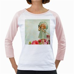 Vintage 1225887 1920 Girly Raglan
