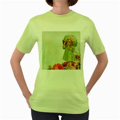 Vintage 1225887 1920 Women s Green T Shirt