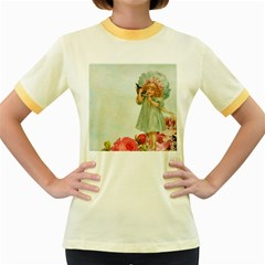 Vintage 1225887 1920 Women s Fitted Ringer T Shirt