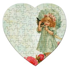 Vintage 1225887 1920 Jigsaw Puzzle (heart)