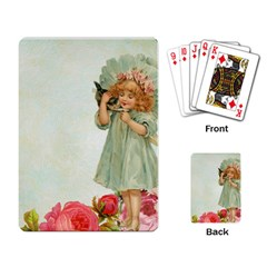 Vintage 1225887 1920 Playing Cards Single Design