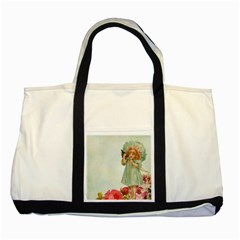 Vintage 1225887 1920 Two Tone Tote Bag