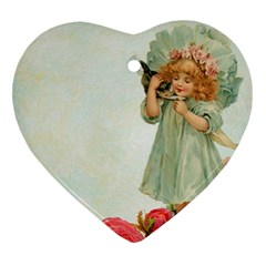 Vintage 1225887 1920 Heart Ornament (two Sides)