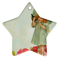 Vintage 1225887 1920 Star Ornament (two Sides)