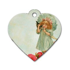 Vintage 1225887 1920 Dog Tag Heart (two Sides)