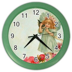 Vintage 1225887 1920 Color Wall Clock