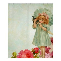 Vintage 1225887 1920 Shower Curtain 60  X 72  (medium)