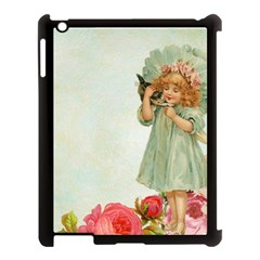 Vintage 1225887 1920 Apple Ipad 3/4 Case (black)