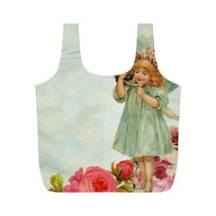 Vintage 1225887 1920 Full Print Recycle Bag (m)