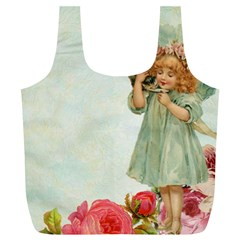Vintage 1225887 1920 Full Print Recycle Bag (xl)