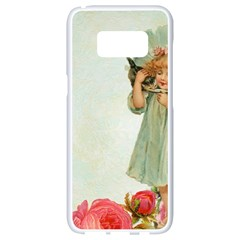 Vintage 1225887 1920 Samsung Galaxy S8 White Seamless Case