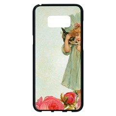 Vintage 1225887 1920 Samsung Galaxy S8 Plus Black Seamless Case