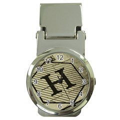 Fabric Pattern Textile Clothing Money Clip Watches