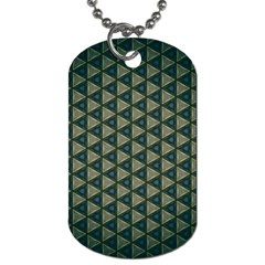Texture Background Pattern Dog Tag (one Side) by Sapixe