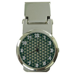 Texture Background Pattern Money Clip Watches