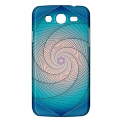 Decorative Background Blue Samsung Galaxy Mega 5 8 I9152 Hardshell Case  by Sapixe