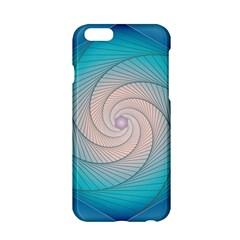 Decorative Background Blue Apple Iphone 6/6s Hardshell Case by Sapixe