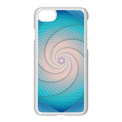 Decorative Background Blue Apple Iphone 8 Seamless Case (white) by Sapixe