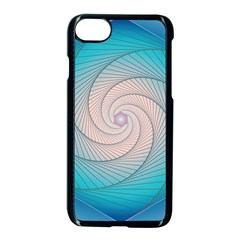 Decorative Background Blue Apple Iphone 8 Seamless Case (black) by Sapixe