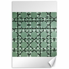 Pattern Graphics Figure Line Glass Canvas 24  X 36