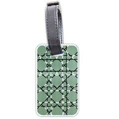Pattern Graphics Figure Line Glass Luggage Tags (one Side)  by Sapixe