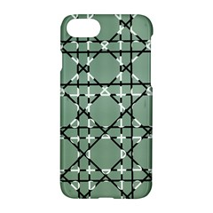Pattern Graphics Figure Line Glass Apple Iphone 8 Hardshell Case