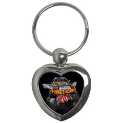 Monster Truck Lego Technic Technic Key Chains (heart)