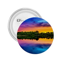Sunset Color Evening Sky Evening 2 25  Buttons by Sapixe