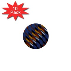 Colors Fabric Abstract Textile 1  Mini Buttons (10 Pack)