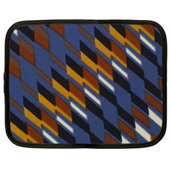 Colors Fabric Abstract Textile Netbook Case (xxl) by Sapixe