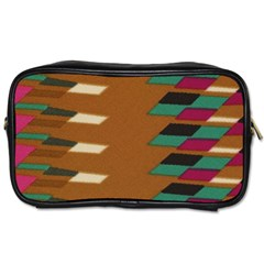 Fabric Textile Texture Abstract Toiletries Bag (one Side) by Sapixe